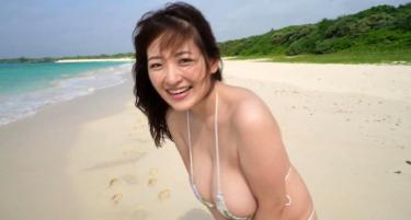 Iカップの神乳グラドル【 柳瀬さき】約3年ぶりに復活 動画